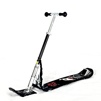 Amazon.com : MGIZLJJ Youth Recreational Snow Kick Scooter ...