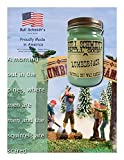 Bull Schmidt's Lumberjack Scented Soy Candle - A morning out in the pines, where men are men and the squirrels are scared - 70+ Hours Burn Time in 12 oz Canning Jar with Rustic Lid