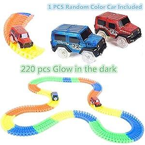 Light up Magic Race Cars Tracks Set As Seen on Tv