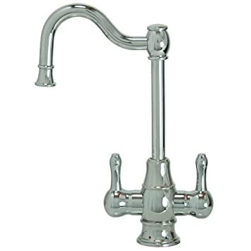 Mountain Plumbing MT1871-NL/PVDPN Traditional Hot & Cold Water ...