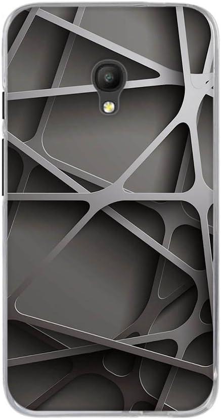 DIKAS Coque pour Alcatel One Touch Pixi 4 5.0 inch 5.0 inch - Pic: 05 /Étui Housse en Silicone Souple avec de Choc et Anti-Scratch Protecteur Shell Gel TPU Back Case pour Alcatel One Touch Pixi 4
