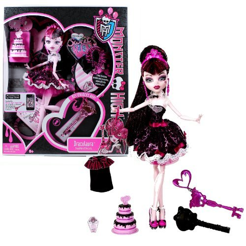 Monster High Birthday Outfits (Mattel Year 2011 Monster High