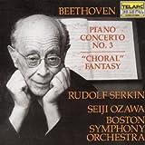 """Beethoven: Piano Concerto No. 3, """"Choral"""" Fantasy"""