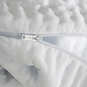 Today's Mom Coolmax Pregnancy Pillow, White