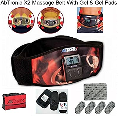 Abtronic X2 With Gel Pads. Works Out Your Abs And Your Back At The Same Time !!