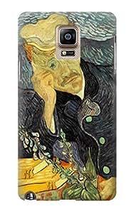 S0212 Van Gogh Portrait of Dr. Gachet Case Cover For Samsung Galaxy Note 4 Kimberly Kurzendoerfer