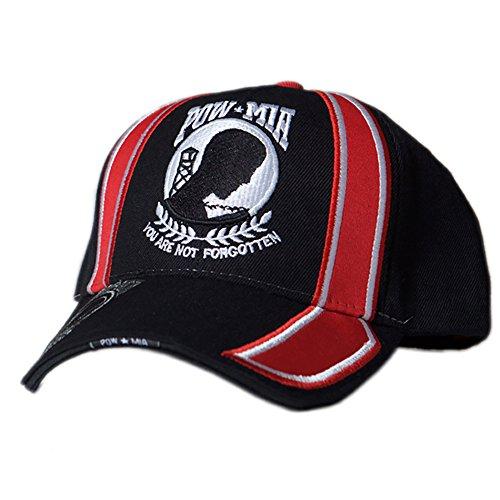 US HONOR TM Embroidered Racing POW/MIA Logo Baseball Caps Hats -