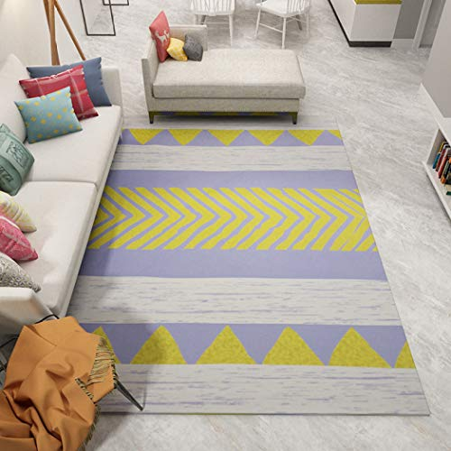 European Style Carpet for Living Room Absorbent Anti-Slip Soft Bedroom Floor Mats Home Area Rugs Home Decor