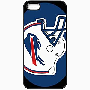 Personalized iPhone 5 5S Cell phone Case/Cover Skin 1324 buffalo bills Black