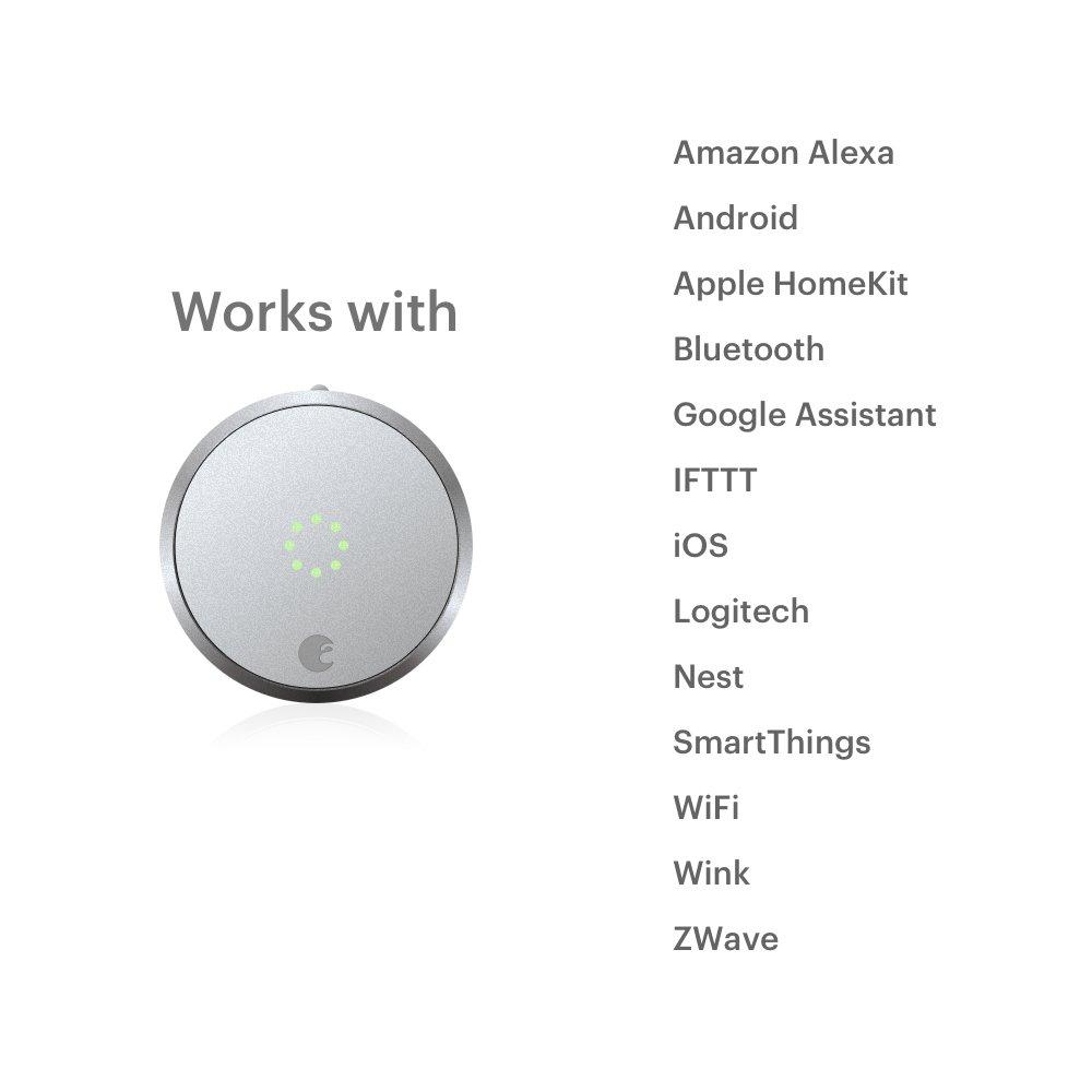 August Smart Lock Pro Cerradura inteligente, 3ª generación, AUG-SL-CON-S03, 1.5V: Amazon.es: Bricolaje y herramientas