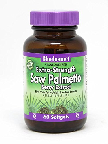 BLUEBONNET Nutrition STANDARDIZED Extra-Strength Saw Palmetto Berry Extract For Sale