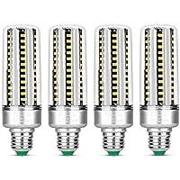 KLED 4Pack LED Corn Light Bulb, 25W, E27 Socket, 2700K Warm White, 180W Equivalent,2000Lumen,LED Light Bulb for Home…