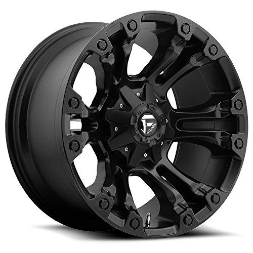 (Fuel D560 Vapor 17x9 5x114.3/5x127 -12mm Matte Black Wheel Rim)