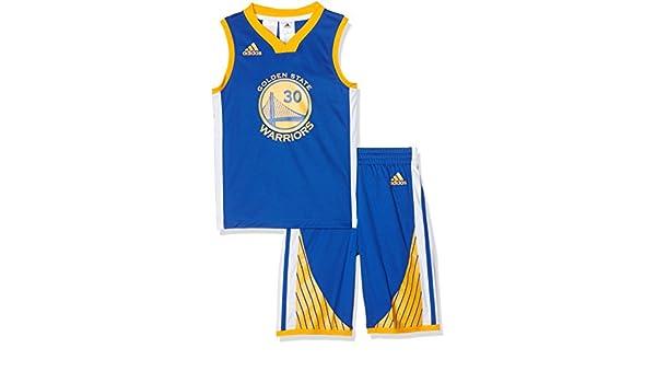 adidas Y Jrsy/Short - Pantalón Corto para niño, Color Azul, Talla 128: Amazon.es: Deportes y aire libre