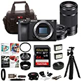 Cheap Sony a6500 Mirrorless Camera with 55-210mm Lens and 64GB SDHC Accessory Bundle