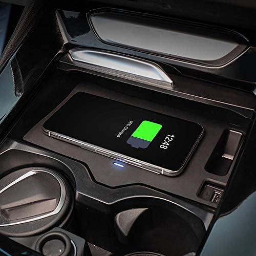 eecoo 15W Caricabatterie Wireless per Auto Caricabatterie rapido per Telefono Cellulare X3 G01 X4 G02, 2018-2020, Caricabatterie Wireless per Auto ad Alta sensibilità