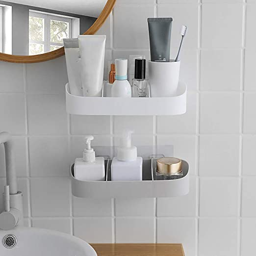 Portable Soap Holder Bathroom Storage Organizer Wall Shower Drainage Accessories