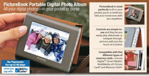 Picture Book Portable Digital Photo Album 20gb ,10,000 storage