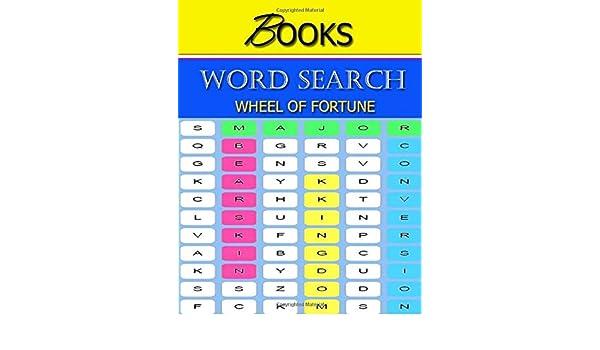 Amazon com: word search books wheel of fortune: Brain Games