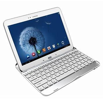 custodia con tastiera galaxy tab e
