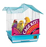Prevue Pet Products 91110 Double Roof Bird Cage Kit