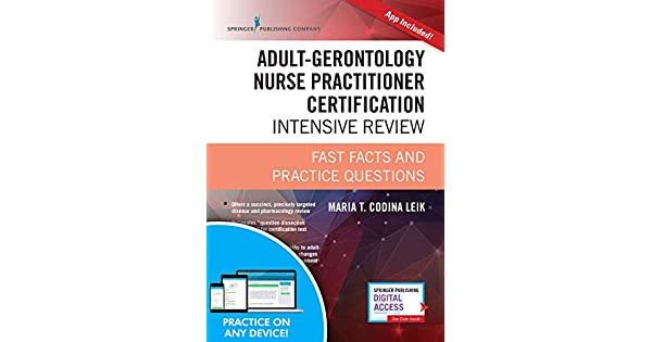 Amazon.com: Adult-Gerontology Nurse Practitioner ...