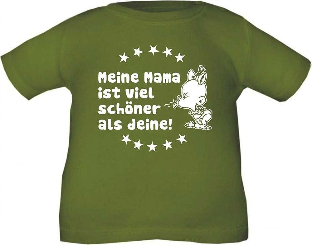 KLEINER FRATZ Baby und Kinder T-Shirt Meine Mama IST sch/öner als Deine//Gr/ö/ße 60-164//in 10 Farben