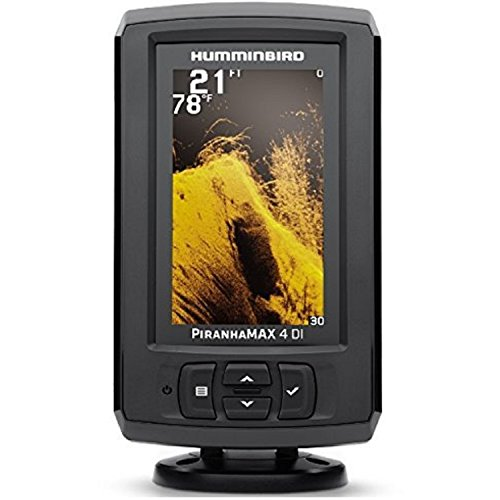 Beam Dual Fishfinder (Humminbird 410160-1 PIRANHAMAX 4.3 DI Fish finder with Down Imaging)