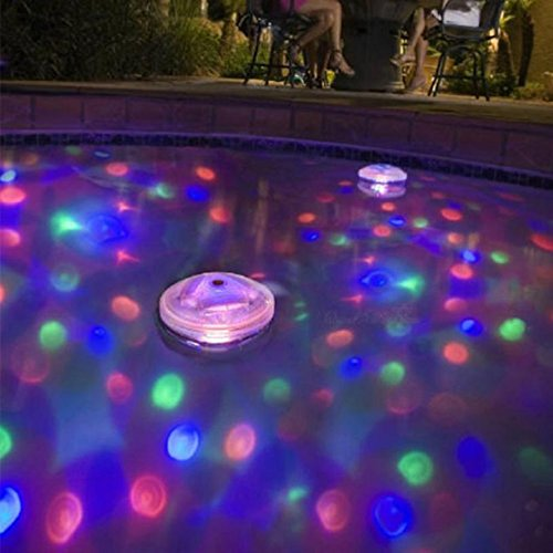Autumn Water Stunning Floating Underwater LED Disco Light Glow Show Swimming Pool Hot Tub Spa Lamp Advanced Design by Autumn Water (Image #1)