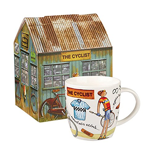 Amazon.com: Churchill China At Your Leisure The Cyclist Mug 0.40L: Home & Kitchen