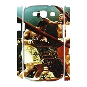 Muhammad Ali High Qulity Customized 3D Cell Phone Case for Samsung Galaxy S3 I9300, Muhammad Ali Galaxy S3 I9300 3D Cover Case