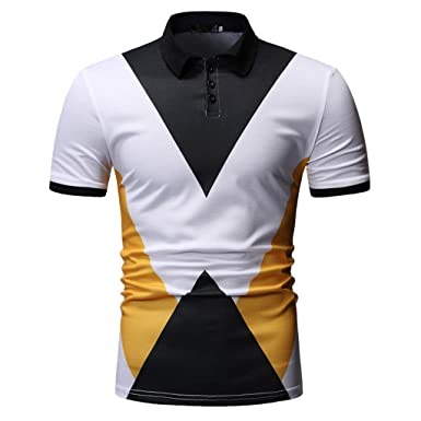 Fannyfuny camiseta Hombre Camisa Polo con punta Camisa Polo para ...