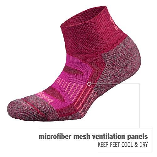 Balega Blister Resist Quarter Socks For Men and Women (1 Pair) (2017 Model)