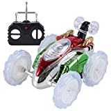 Gbell RC Rolling Stunt car, 360°Spinning and Flips with Color Flash & Music for Kids Remote Control...