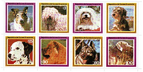 Collie Stamps - 7