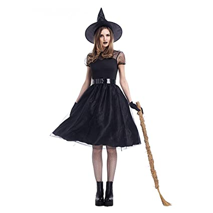 Buy JISEN Women s Halloween Party Role Play Cosplay Costume Online at Low  Prices in India - Amazon.in bee5b63455