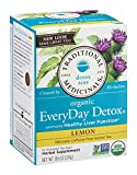 Tea, Everyday, Organic, Detox Lmn, 16 bag (24 Box, Bulk Multi-pack)