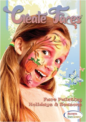 Create Faces Face Painting: Holidays & Seasons - Face Painting DVD - Learn How to Face Paint & Create Festive Looks For Any Holiday & Occasion - Step By Step Face Painting Designs For Valentine's Day, Christmas & More - Clown Training - Educational Video ()