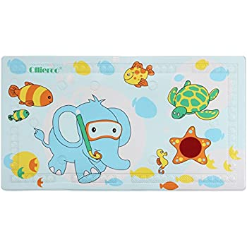 Amazon Com Ollieroo Bath Mat For Tub For Kids Pvc Cartoon