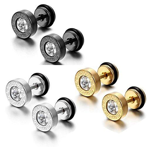 Faker Gauge Earrings - 7