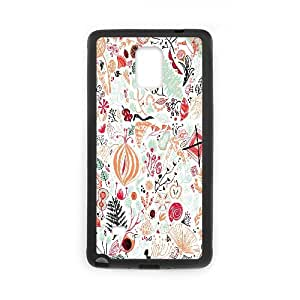 {FLORAL PATTERN Series} Samsung Galaxy Note 4 Cases 42d6e6b95c4c90e53bc930200fd0db47, Case Vety - Black