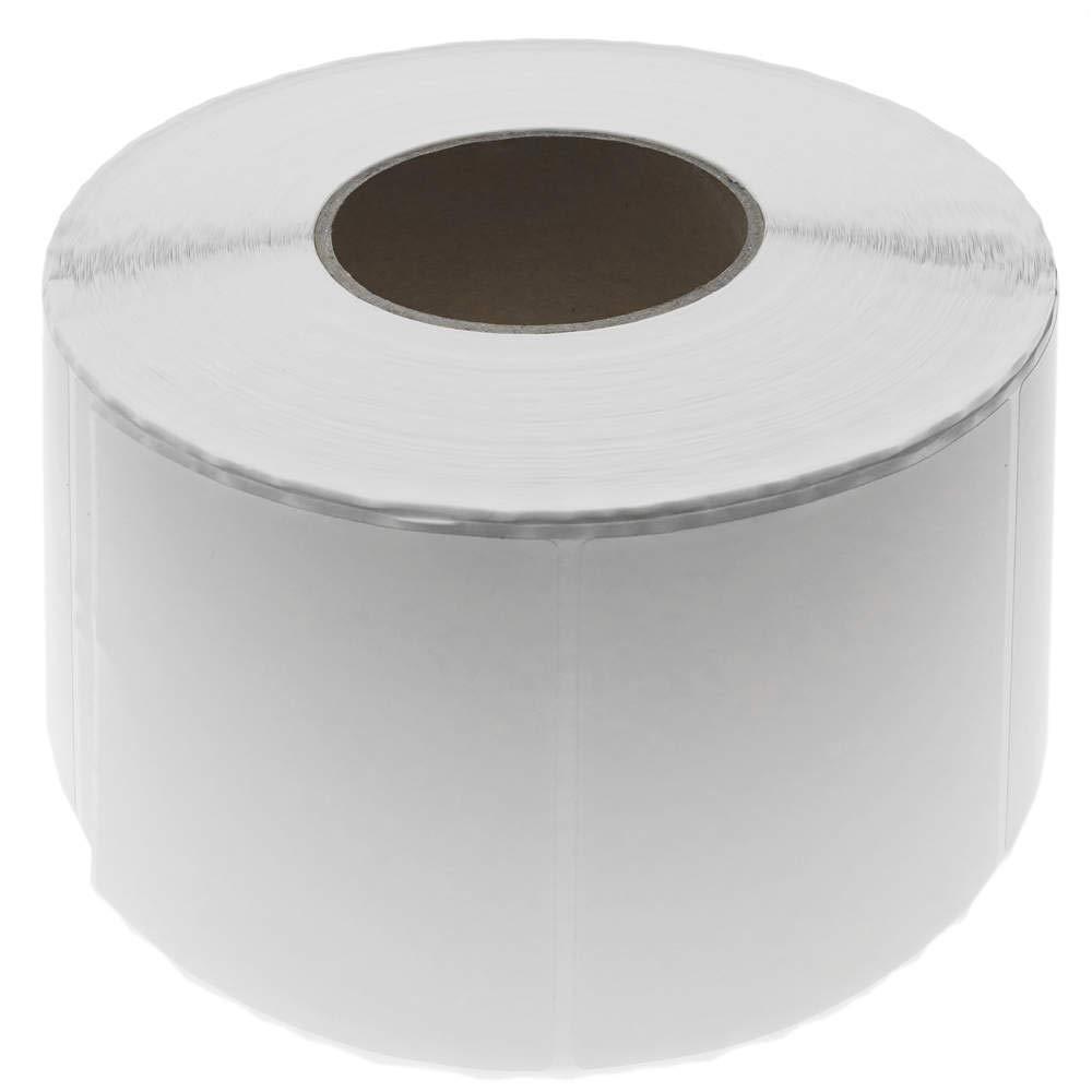 BeMatik - de Rollo Bobina de - 1200 Etiquetas Adhesivas para Impresora térmica Directa 101.6x101.6mm 730aed