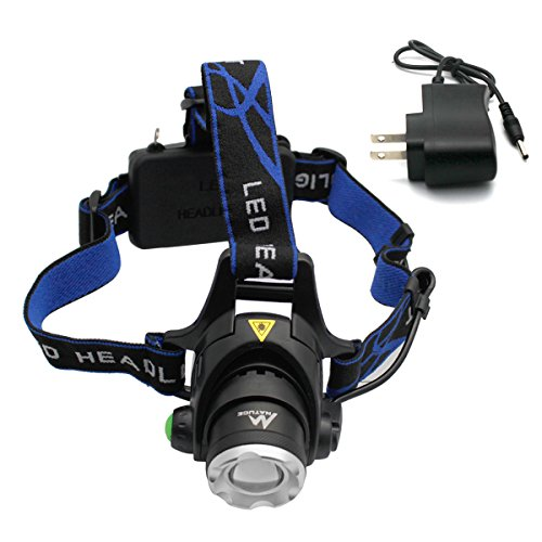 Rechargeable NATUCE Waterproof Headlight Flashlight