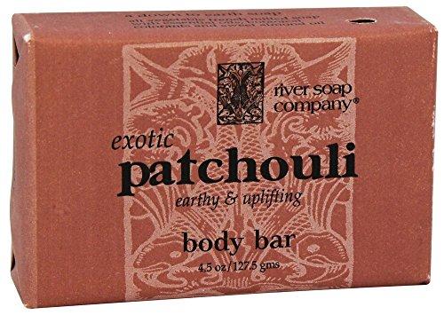 River Soap Company Bar Soap, Patchouli, 4.5 ()