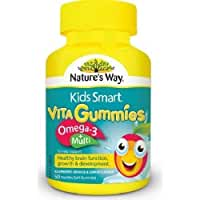 Nature's Way Kids Smart Vita Gummies Omega-3 + Multi 50 Pastilles