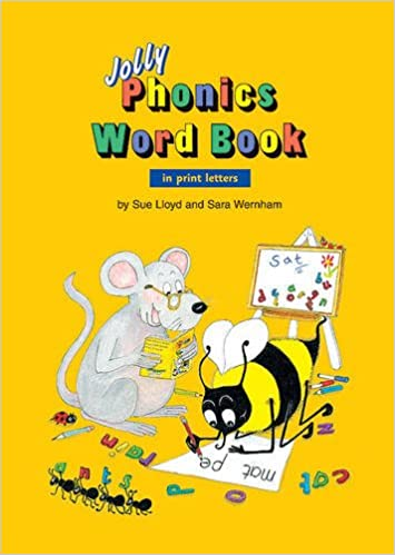 Amazon.com: Jolly Phonics Word Book in Print Letters ...