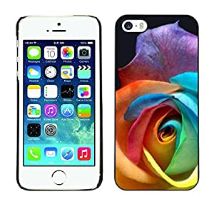 Plastic Shell Protective Case Cover || Apple iPhone 5 / 5S || Flower Beautiful Petal Floral @XPTECH