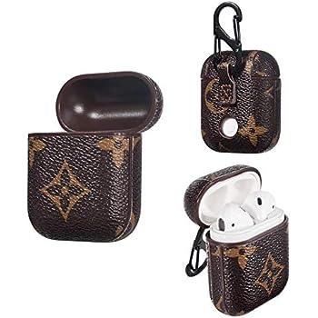 Amazon.com: Redx1 AirPods Case Genuine Leather Portable