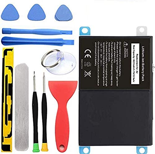HDCKU New Battery Replacement Kit for iPad Air iPad 5 Generation A1474, A1475, A1476 with Full Set Installation Tools and Adhesive