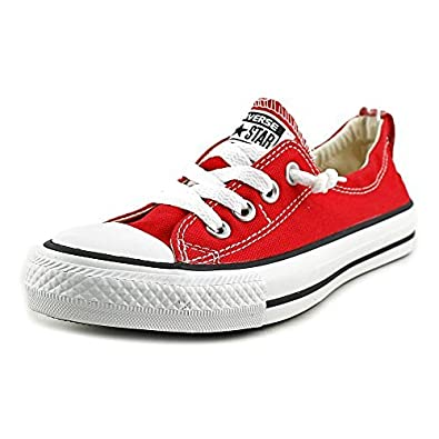 all red converse womens